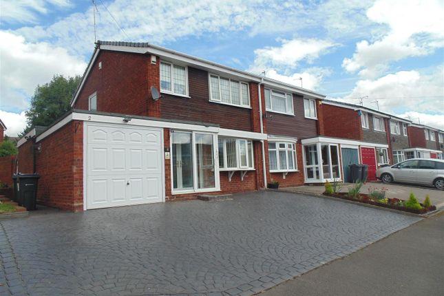 Thumbnail Semi-detached house for sale in Sandon Grove, Erdington, Birmingham