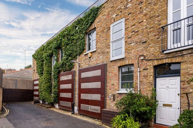 Thumbnail Mews house to rent in Ansleigh Place, London