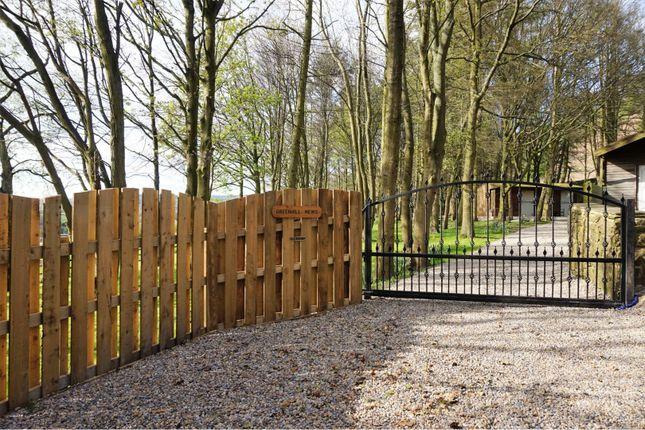 Gated Driveway of Greenhill Lane, Bingley BD16