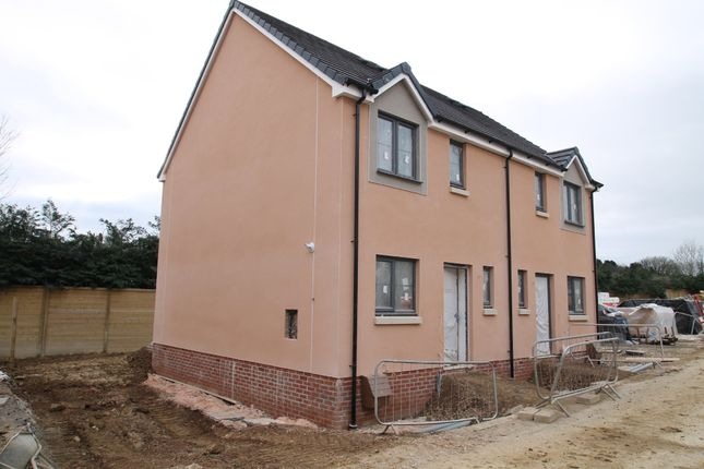 Thumbnail Semi-detached house for sale in The Cranmere, Cornwood Chase, Cornwood Road, Ivybridge