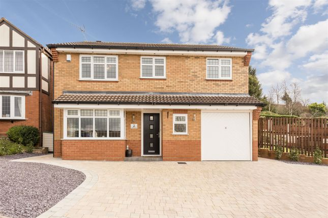 Thumbnail Detached house for sale in Wellington Close, Kingswinford
