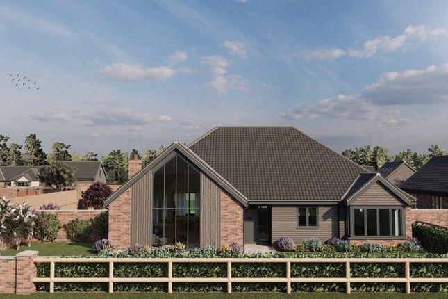 Thumbnail Detached bungalow for sale in Bridge Road, Guist, Dereham