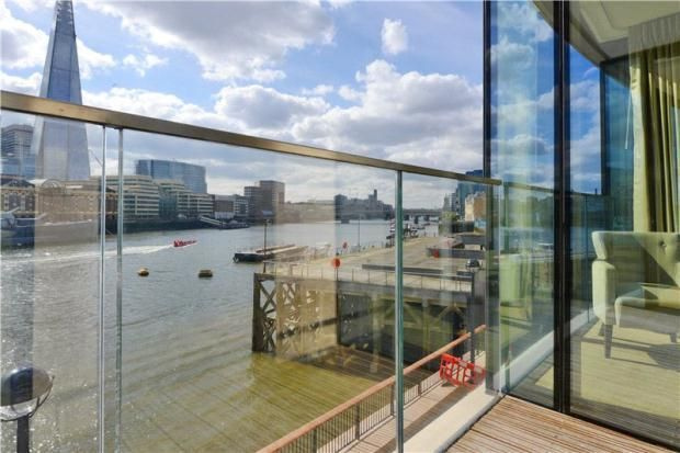 Thumbnail Flat to rent in 40 Lower Thames Street, Tower Hill