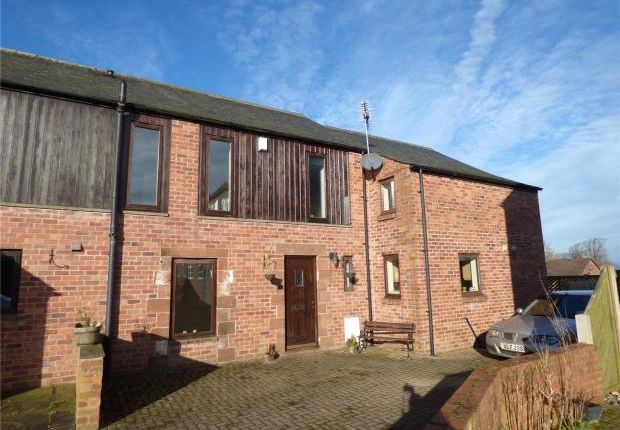 Thumbnail End terrace house for sale in Monkhill Fauld, Burgh-By-Sands, Carlisle