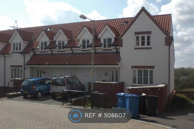 Thumbnail Terraced house to rent in Thacker Way, Norwich