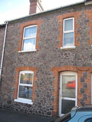 Thumbnail Terraced house to rent in Bampton Street, Minehead