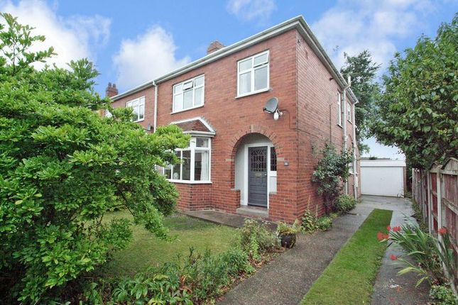 Semi-detached house for sale in Chequerfield Avenue, Pontefract