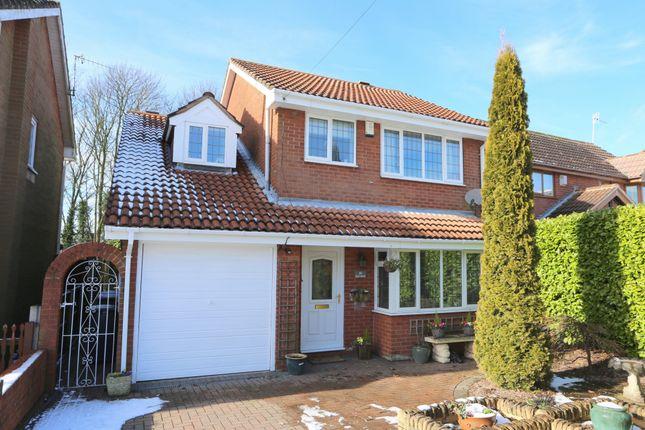 Thumbnail Detached house for sale in Fernhurst Grove, Lightwood