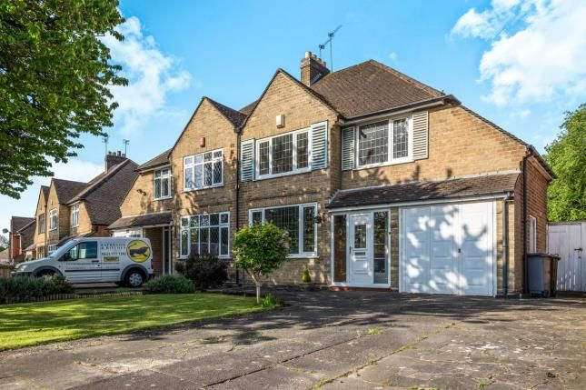 Thumbnail Semi-detached house for sale in Danford Lane, Solihull, West Midlands