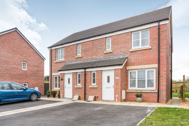Thumbnail End terrace house for sale in Maes Pedr, Carmarthen