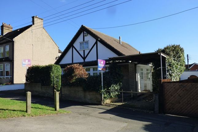 Thumbnail Detached bungalow for sale in Top Dartford Road, Hextable, Swanley