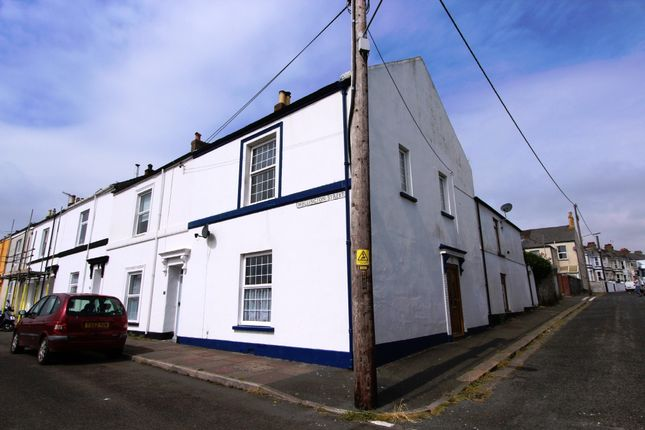 Thumbnail End terrace house for sale in Wellington Street, Torpoint, Cornwall