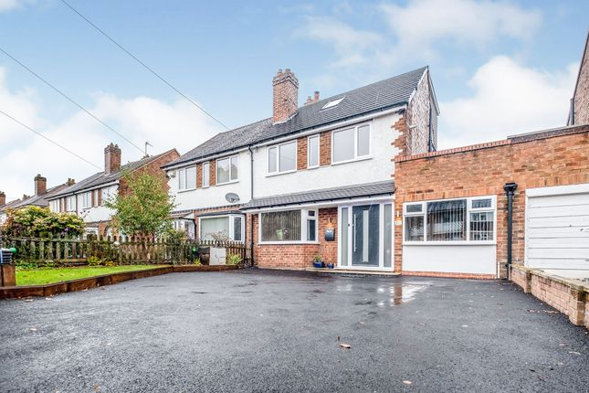 Thumbnail Semi-detached house for sale in Castle Lane, Solihull