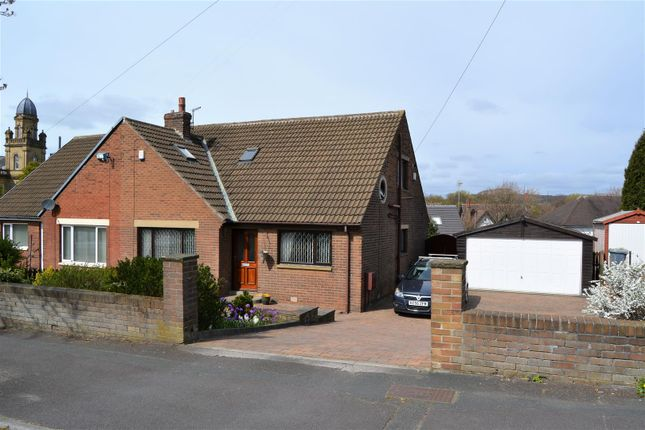 Thumbnail Semi-detached bungalow for sale in Mountjoy Road, Edgerton, Huddersfield