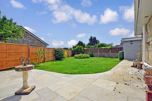 Rear Garden of Marlborough Road, Carisbrooke, Isle Of Wight PO30