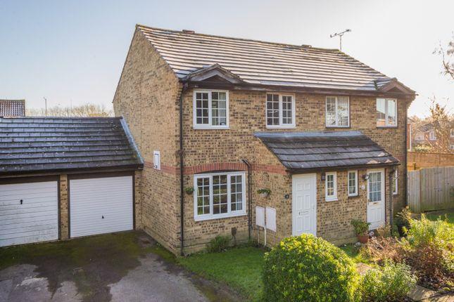 Thumbnail Semi-detached house for sale in Raleigh Close, Willesborough, Ashford