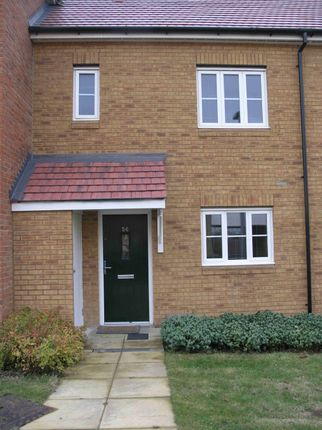 Thumbnail Terraced house to rent in Conqueror Drive, Gillingham, Kent