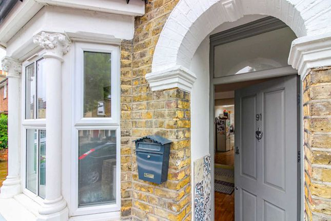 Thumbnail End terrace house for sale in Downsell Road, London