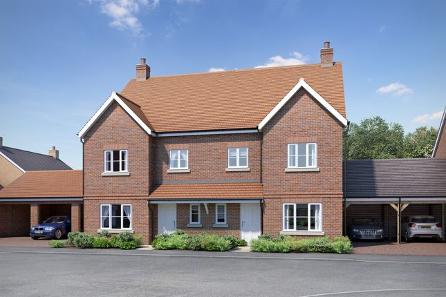 Thumbnail Semi-detached house for sale in Greenleaf Gardens, Polegate
