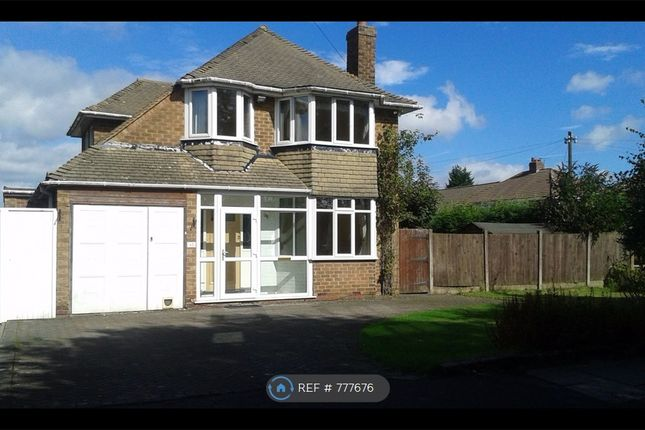Thumbnail Detached house to rent in Mayfield Road, Streetly, Sutton Coldfield