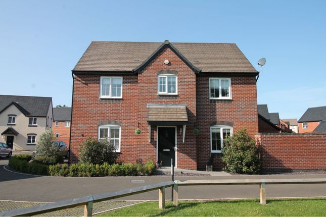 Thumbnail Detached house for sale in Northumbria Close, Kempsey, Worcester