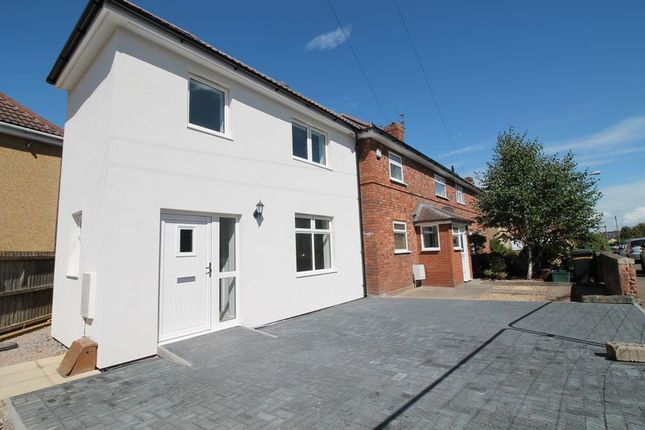 Thumbnail End terrace house to rent in Burchells Green Road, Kingswood, Bristol