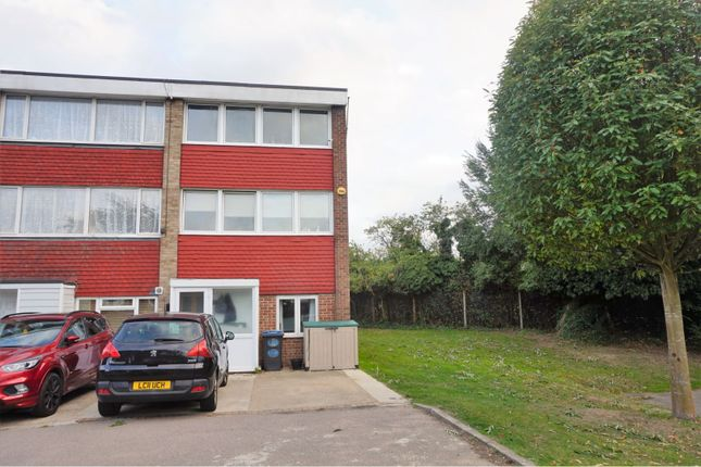 Thumbnail End terrace house for sale in Priory Court, Harlow