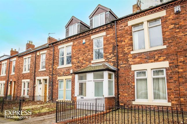 Thumbnail Maisonette for sale in Claremont Road, Newcastle Upon Tyne, Tyne And Wear