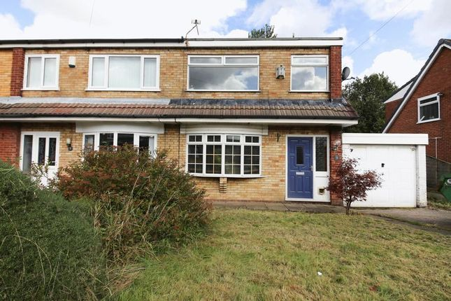 Thumbnail Semi-detached house for sale in Glemsford Close, Hawkley Hall, Wigan