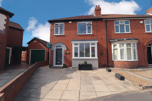 Thumbnail Semi-detached house for sale in Carisbrooke Road, Doncaster