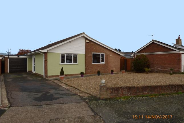 Thumbnail Detached bungalow to rent in Newland Avenue, Worlingham, Beccles