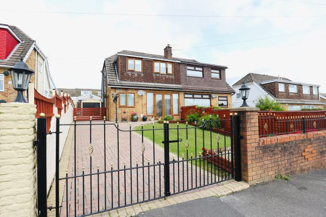 Thumbnail Semi-detached house for sale in Chester Close, Merthyr Tydfil