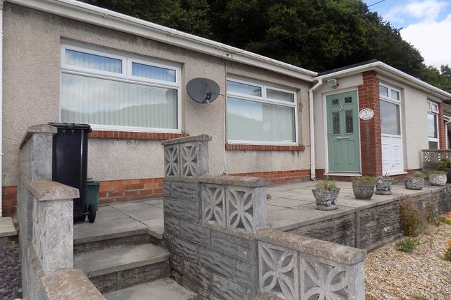 Thumbnail Terraced bungalow for sale in Margaret Close, Briton Ferry, Neath, Neath Port Talbot.