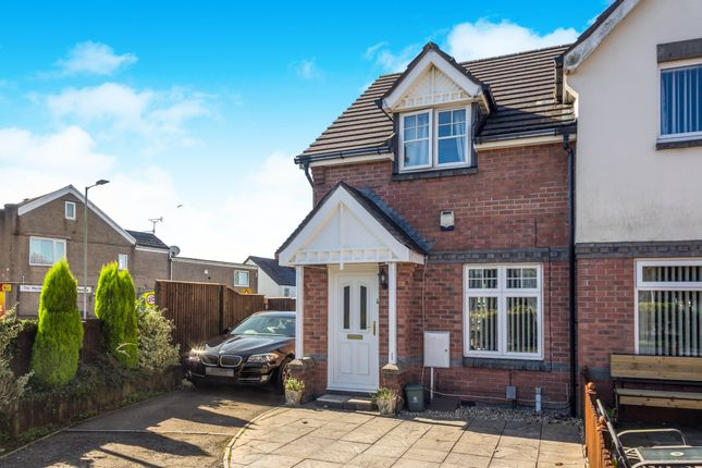 2 bed semi-detached house for sale in Middle Road, Gendros, Swansea