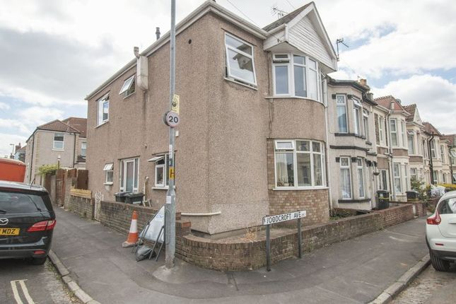 Thumbnail Flat for sale in Woodcroft Avenue, Whitehall, Bristol