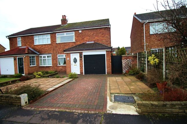 Thumbnail Semi-detached house for sale in Fawborough Road, Wythenshawe, Manchester
