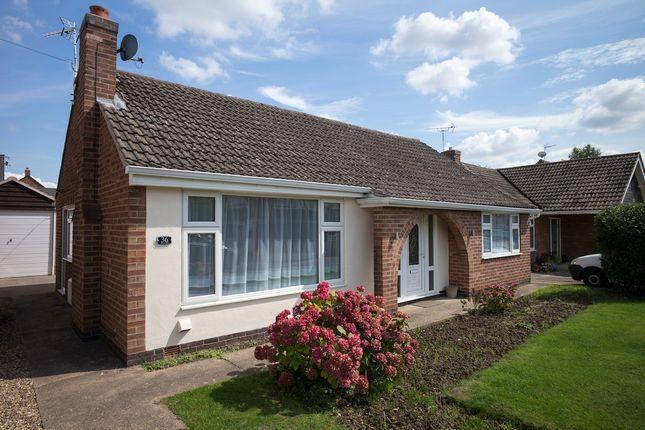 Thumbnail Detached bungalow for sale in The Fleet, Stoney Stanton