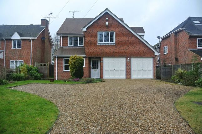 Thumbnail Detached house for sale in Reading Road, Chineham, Basingstoke