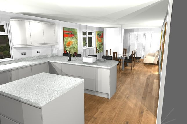 Thumbnail Detached house for sale in Uplands Road, Denmead, Waterlooville