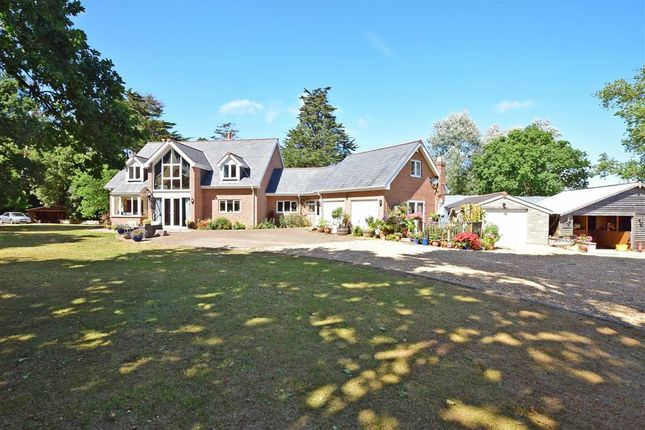 Thumbnail Detached house for sale in Seaview Road, Cranmore, Yarmouth, Isle Of Wight