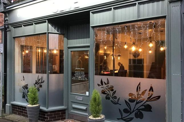 Thumbnail Restaurant/cafe for sale in Abbey Street, Market Harborough