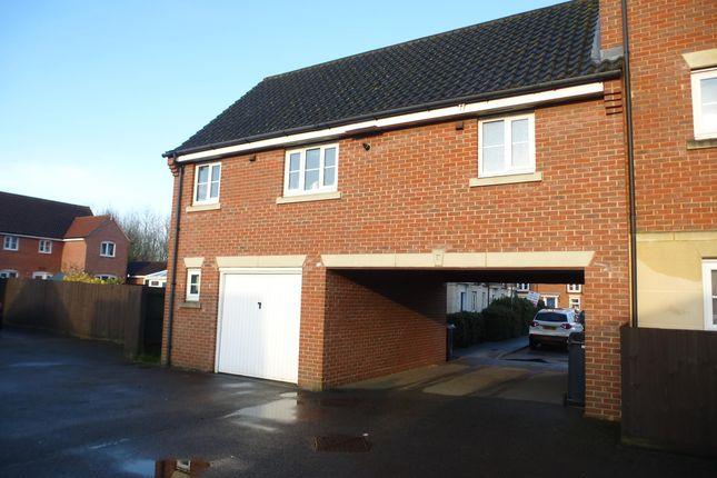 1 bed flat to rent in Burdock Close, Wymondham