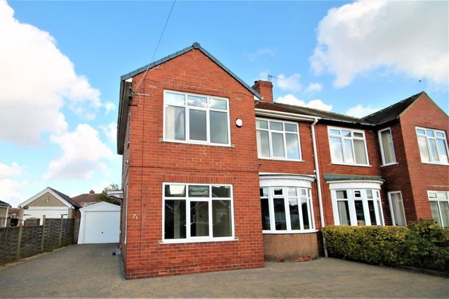 Thumbnail Semi-detached house for sale in Fairfield Road, Stockton-On-Tees