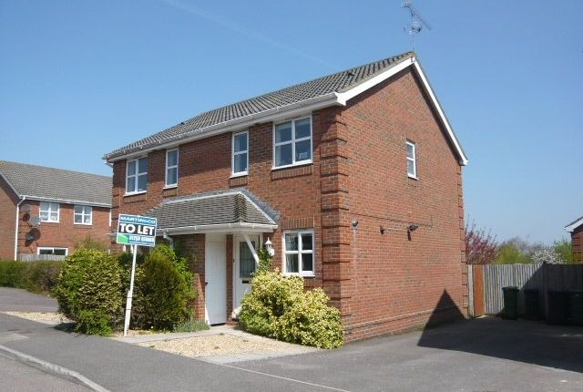 Thumbnail Semi-detached house to rent in Lime Gardens, Basingstoke