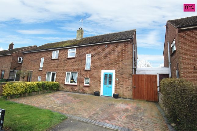 Thumbnail Semi-detached house for sale in Windsor Road, Wellingborough, Northamptonshire.
