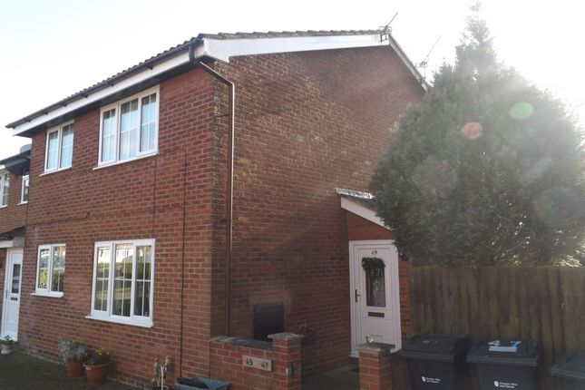 Thumbnail Property for sale in Forest Road, Winsford