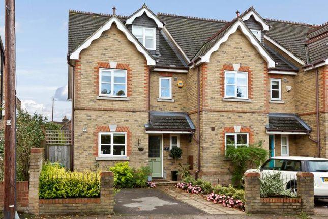 Thumbnail Terraced house for sale in Princes Road, Weybridge, Surrey