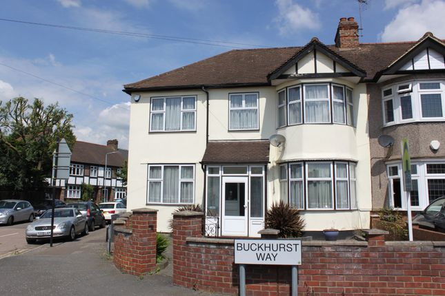 Thumbnail Semi-detached house for sale in Buckhurst Way, Buckhurst Hill