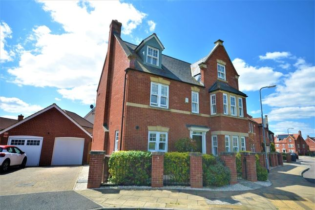 Thumbnail Detached house for sale in Harry Brown Close, Northampton