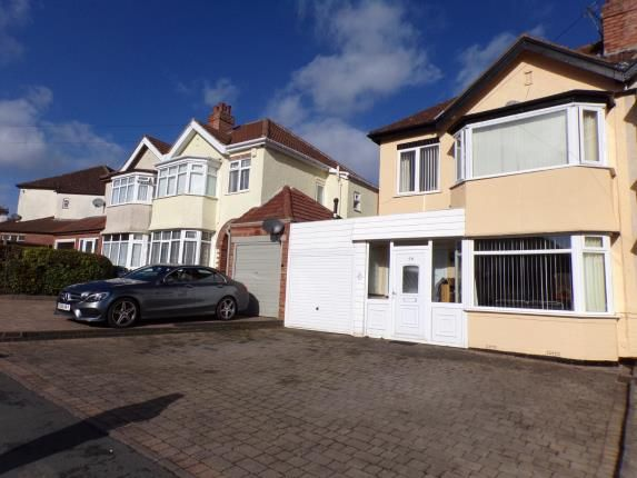 Thumbnail Semi-detached house for sale in Chestnut Road, Oldbury, Sandwell, West Midlands